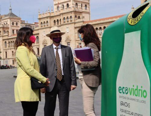 Alianza Valladolid-Ecovidrio para impulsar el reciclaje de envases entre los hosteleros