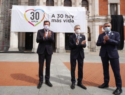 El Ministerio abre en Valladolid el semáforo para que España estrene calles más seguras con límite a 30km/h