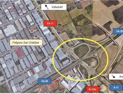 El Ministerio licita la redacción del proyecto para mejorar el acceso al polígono de San Cristóbal desde la VA-30