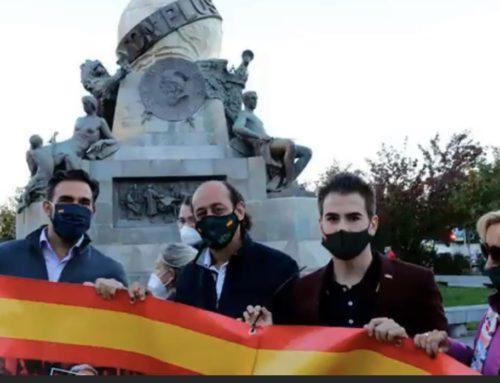 VOX, condenado por publicitar ilegalmente su fallida moción de censura contra Sánchez en Valladolid