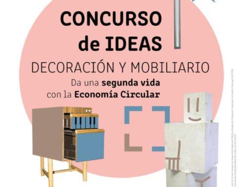 Concurso de ideas para dar nueva vida al mobiliario en desuso a través de la economía circular