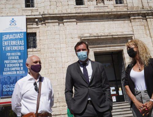 Valladolid reconoce y agradece públicamente la labor de los profesionales de Enfermería