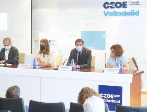 El Ayuntamiento y la CEOE trabajando junto por Valladolid