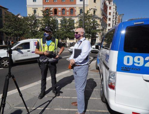 Un nuevo sistema permite a la Policía comprobar al instante si los vehículos tienen toda la documentación en regla