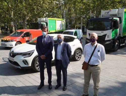 1,1 M€ para redoblar la apuesta por la sostenibilidad con la compra de 9 nuevos vehículos