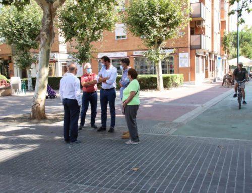 Nuevo tramo de carril bici y mejora de la accesibilidad en la calle Mirabel de Rondilla