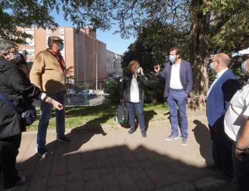 El Parque Patricia estrena proyecto medioambiental pionero y la calle Pingüino reurbanización