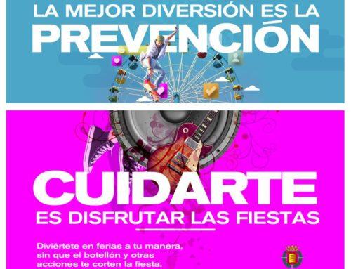 """""""La mejor diversión es la prevención. Cuidarte es disfrutar las fiestas"""""""