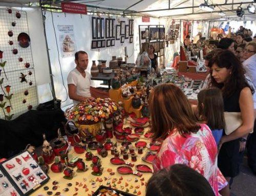 La cerámica y la alfarería no faltan a su cita ferial en el Paseo Central de Campo Grande