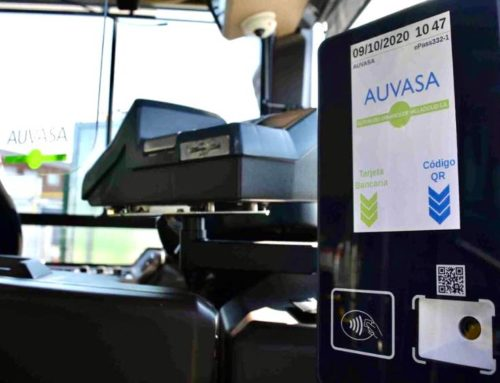 Auvasa ya permite recargar tarjetas de transporte a golpe de clic